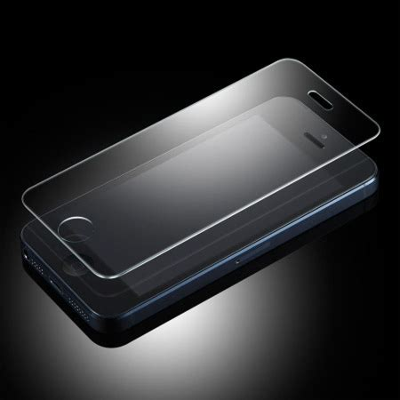 tempered glass screen protector iphone 5 olixar iphone 5s 5 5c tempered glass screen protector