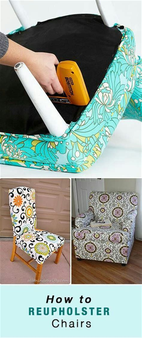 learn how to reupholster a chair in an easy and