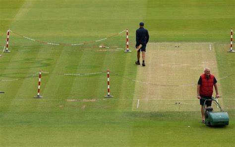 lords struck  fairy rings disfiguring pitch
