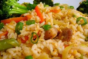 Asian Chicken Fried Rice by chef Zakir - Creative Recipes