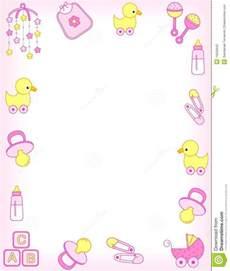 Girl Baby Clip Art Borders