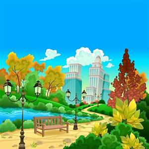 Cartoon Park Scene | www.pixshark.com - Images Galleries ...