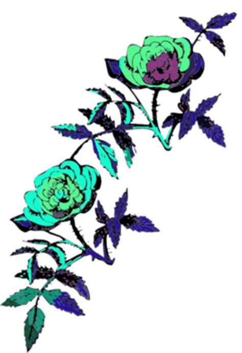 rose decoration  color clipart iclipart royalty