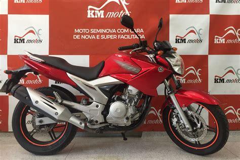 Yamaha Fazer ys 250 Vermelha 2011 | KM Motos | Sua Loja de ...