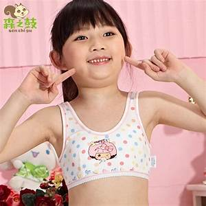 Brand Cotton Training Bras for young kid girls 8 16 years ...