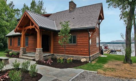 small lakefront home plans lake cottage house plans