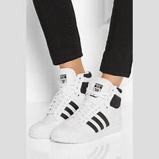 Adidas Originals  Top Ten Texturedleather Hightop