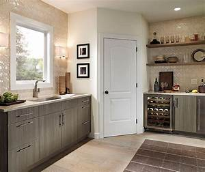 dining room cabinets in light grey finish kitchen craft With what kind of paint to use on kitchen cabinets for wall art craft