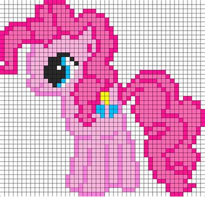 Pony Pie Pinkie Bead Perler Pattern Patterns