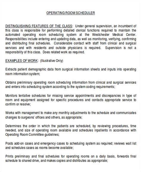 scheduling coordinator description sle 8