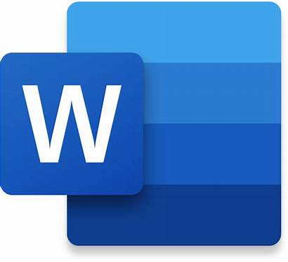 Word Transparent Microsoft Icon Ms Clipart Insert