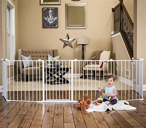 regalo   super wide gate  play yard white
