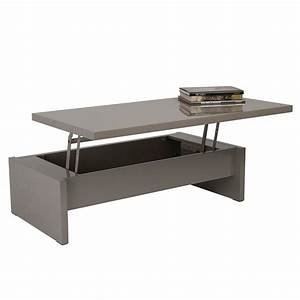multi level storage coffee table latte lacquer With 3 level coffee table