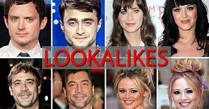 54 celebrities who look alike, as Miley Cyrus does her ...