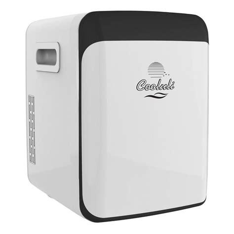 cooluli classic  cu ft retro mini fridge  white
