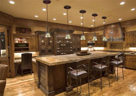 rustic kitchen island lighting kitchen lighting system classic elegance