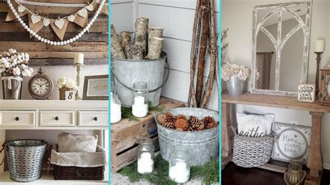 diy shabby chic style galvanized tub bucket decor ideas