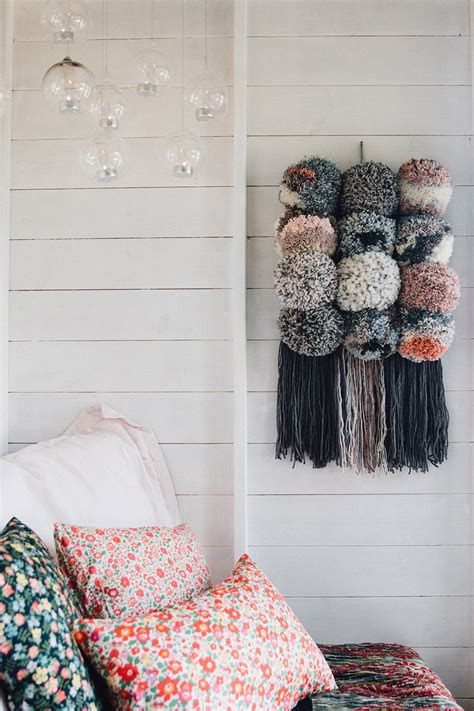 favourite  giant pom pom wall hanging lobster  swan