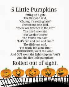 Five Little Pumpkins Sitting On A Fence by Crafty Confessions Collection Of Free Halloween Printables