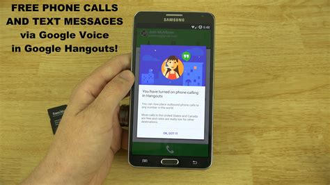 make free phone calls voice integration with hangouts make free