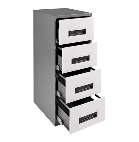 steel drawer cabinet steel 4 drawer filing cabinet white mist lowest prices