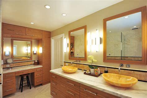 Master Bath Montecito With Honey Onyx Vessel  Ee  Sinks Ee