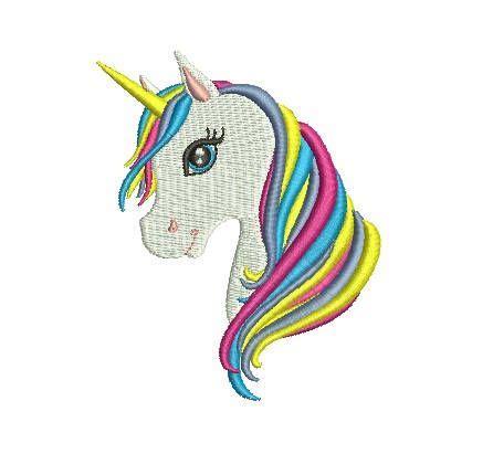 unicorn rainbow embroidery design images  pinterest colour chart rainbow
