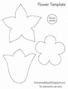 free printable flower templates With free flower templates to print