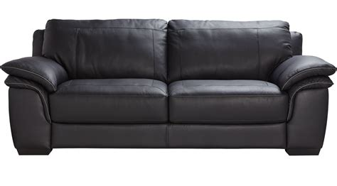 Sofa Schwarz Leder by 899 99 Grand Palazzo Black Leather Sofa Classic