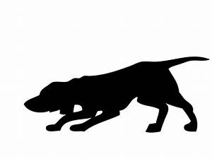 Hunting Dog Silhouette