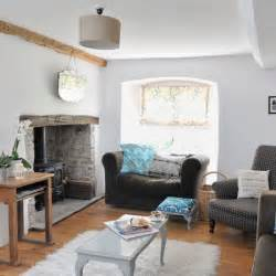 Modern Country Cottage Living Room