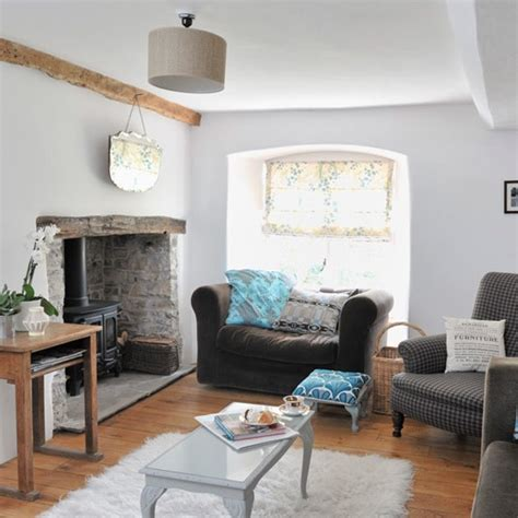 modern country living rooms original living room features modern country cottage