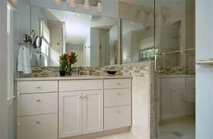 Modern, Master, Bathroom, With, Frameless, Showerdoor, By, Jan