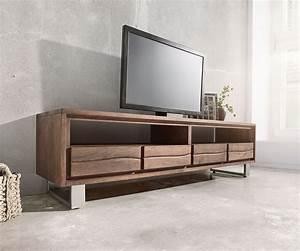 Tv Lowboard 250 Cm : lowboard live edge 190 cm akazie braun 4 sch be m bel tische fernsehtische ~ Bigdaddyawards.com Haus und Dekorationen