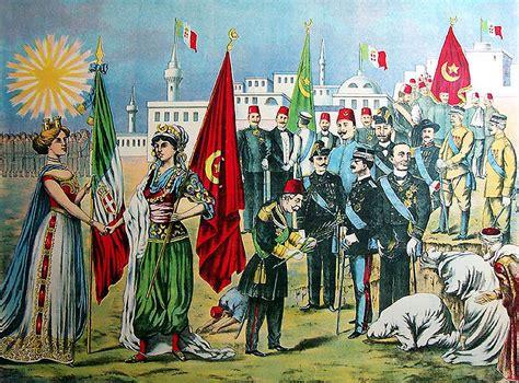 Ottoman Empire History Summary - file italo turkish war peace treaty chromolithograph jpg