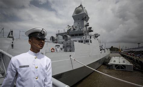 indian navys interceptor boat catches fire  maintenance