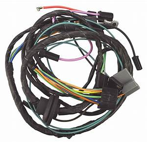 Air Conditioning Harness W   Heater Wiring  1969 Chevrolet