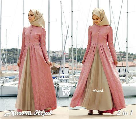 fashion busana muslim trend fashion baju gamis modis modern terbaru masa kini