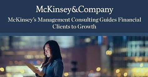 mckinsey companys management  operations consulting