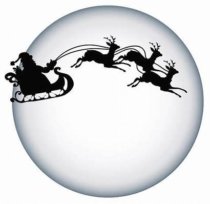 Santa Moon Transparent Clipart Clause Shade Yopriceville