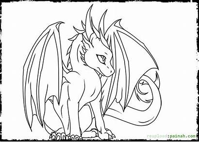 Coloring Dragons Pages Dragon Printable Dragonvale Drawing