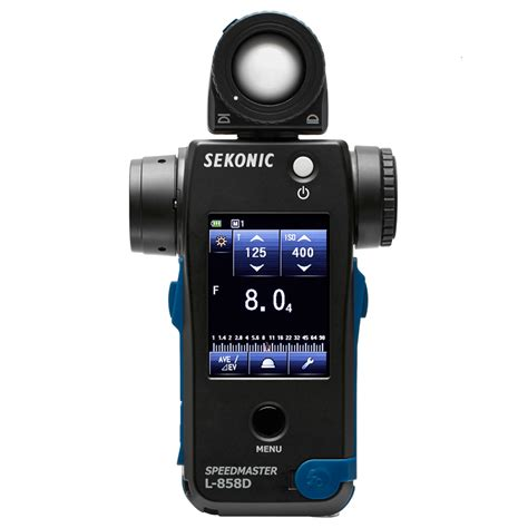 sekonic light meter sekonic l 858d speedmaster light meter park cameras
