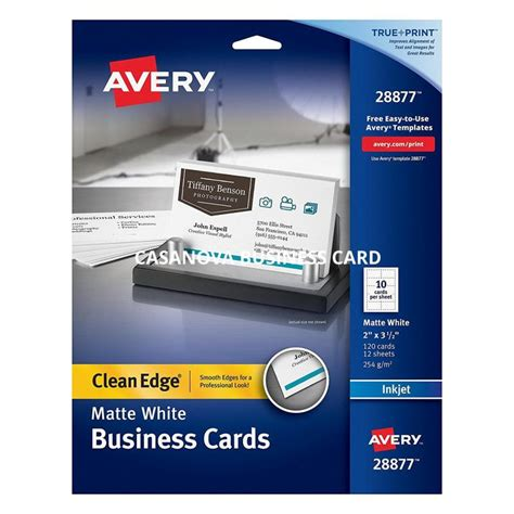 Avery Business Card Template Avery Business Card Template Shatterlion Info