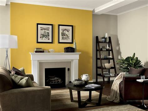 25+ Best Ideas About Yellow Accent Walls On Pinterest