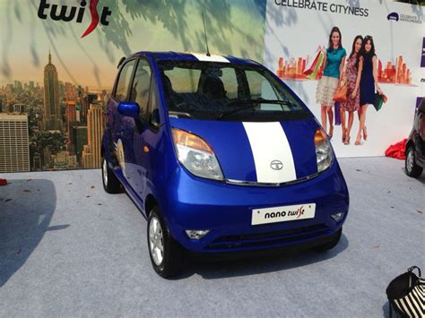 tata nano twist launched at rs 2 36 lakh autocar india