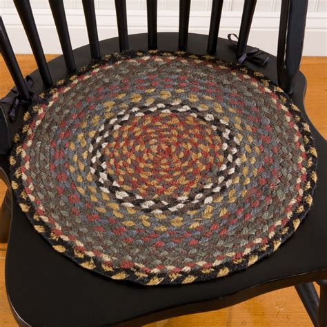 braided chair pads for kitchen chairs jute braided chair pad sturbridge yankee workshop