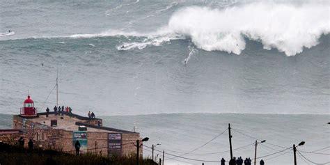 Surfer Andrew Cotton Rides Worlds Biggest Surfed Wave