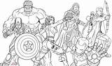 Coloring Pages Squad Superhero Thor Doghousemusic sketch template