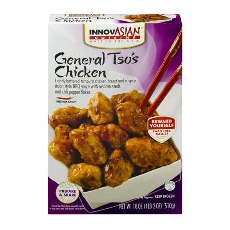 innovation cuisine innovasian cuisine general tso 39 s chicken from schnucks instacart