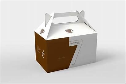 Packaging Mockup Box Hanging Coffee Cart Eymockup